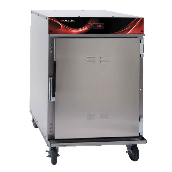 Cres Cor 750-HH-SS-DE Undercounter Mobile Heated Cabinet w/ (6) Pan Capacity, 120v