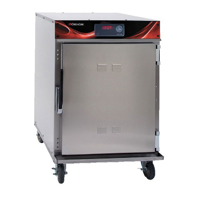 Cres Cor 750-HH-SS-DX Undercounter Insulated Mobile Heated Cabinet w/ (6) Pan Capacity, 120v