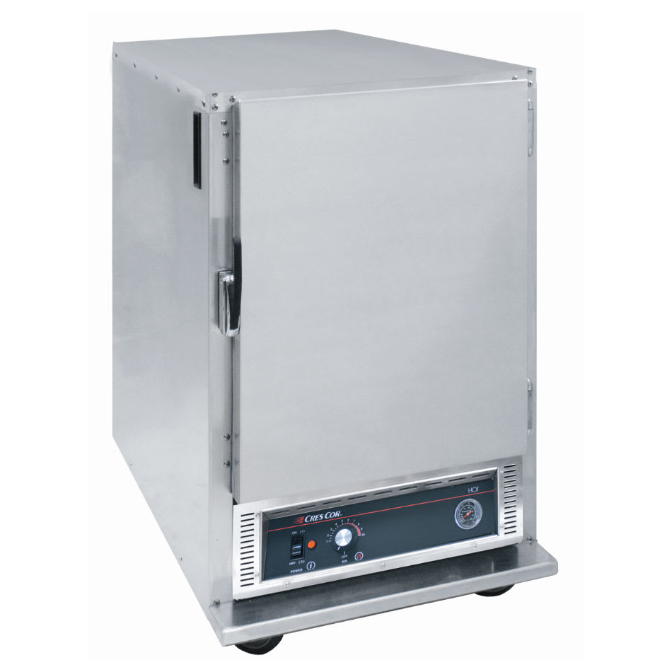 Cres Cor H-135-SUA-6 1/2 Height Insulated Mobile Heated Cabinet w/ (6) Pan Capacity, 120v
