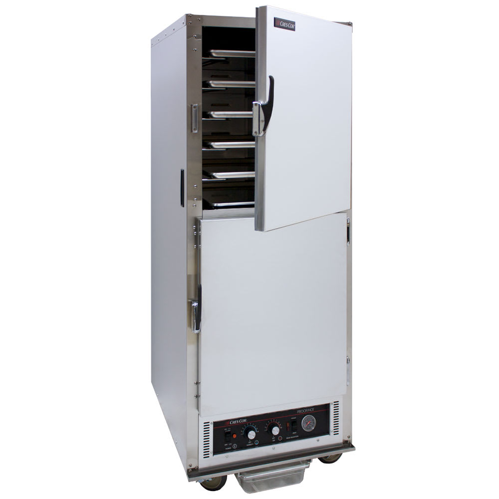 Cres Cor H-135-WSUA-11 Full Height Mobile Heated Cabinet w/ (11) Pan Capacity, 120v