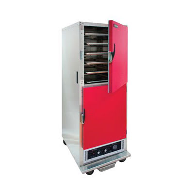 Cres Cor H-135-WUA-11-R Full Height Mobile Heated Cabinet w/ (11) Pan Capacity, 120v