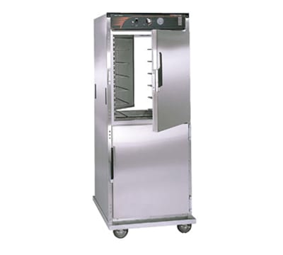 Cres Cor H-137-PSUA-12D Full Height Mobile Heated Cabinet w/ (12) Pan Capacity, 120v