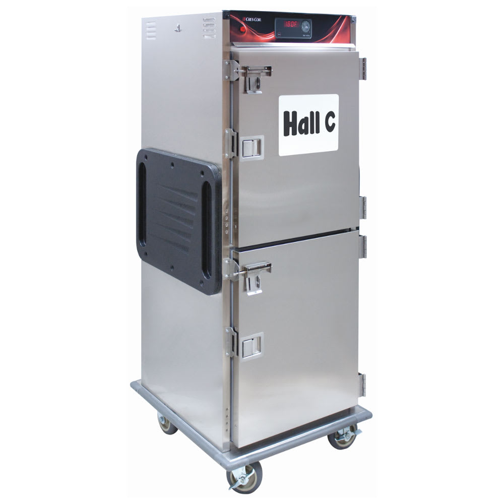Cres Cor H-137-SUA-12D-SD Full Height Insulated Mobile Heated Cabinet w/ (12) Pan Capacity, 120v