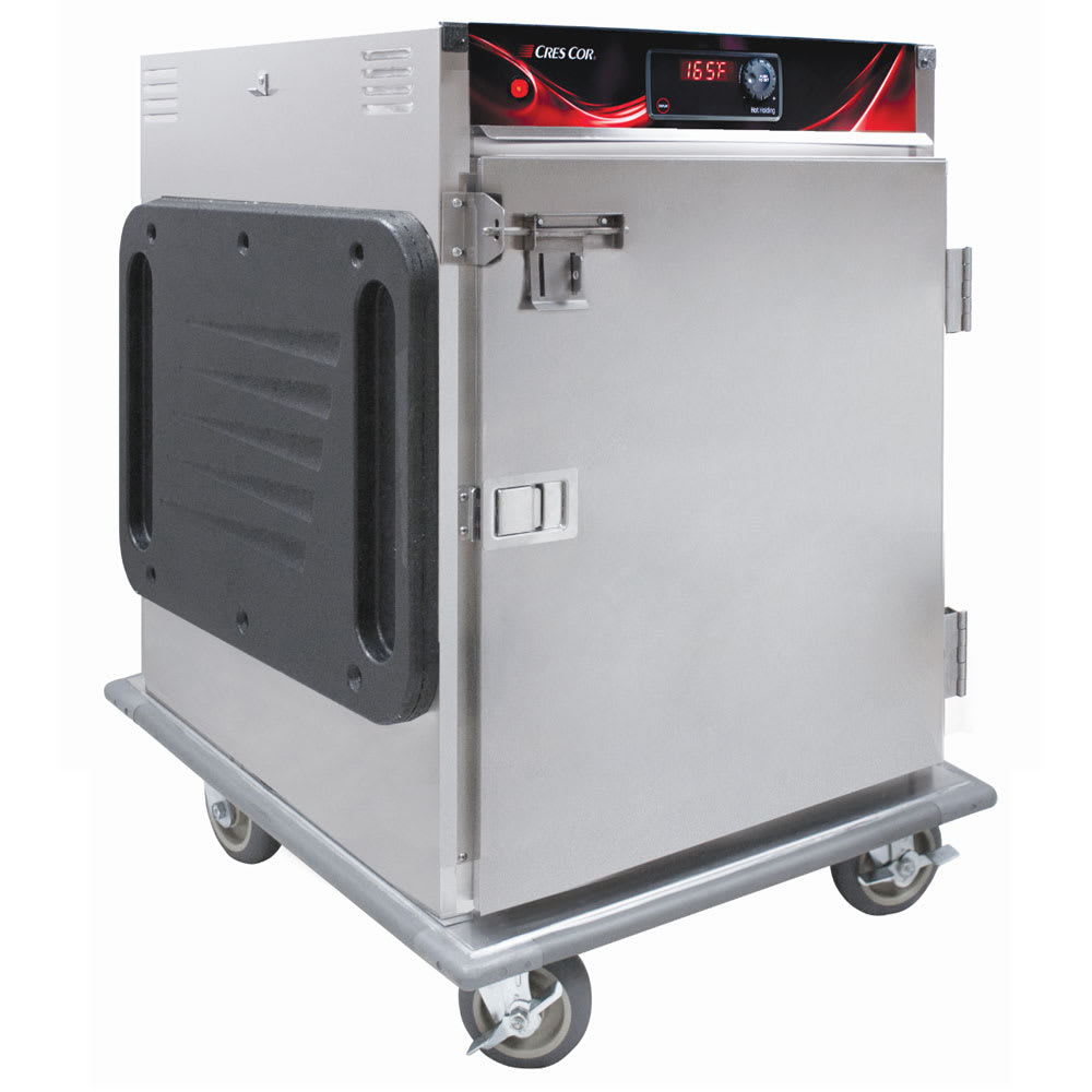 Cres Cor H-137-SUA-6D-SD 1/2-Height Mobile Heated Cabinet w/ (6) Pan Capacity, 120v