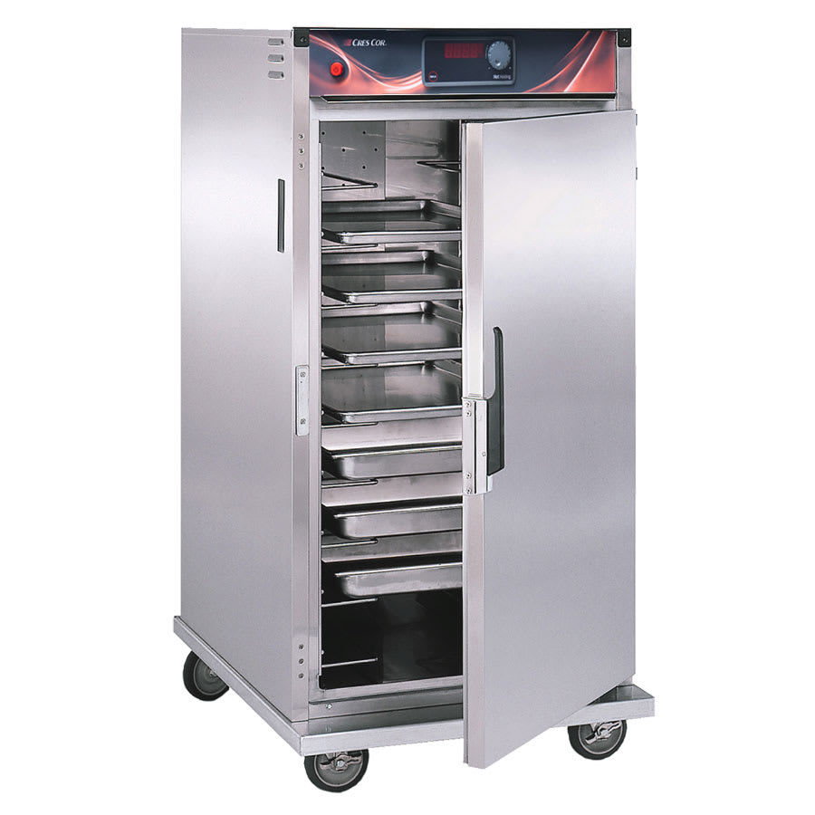 Cres Cor H-137-SUA-9D 3/4-Height Mobile Heated Cabinet w/ (9) Pan Capacity, 120v