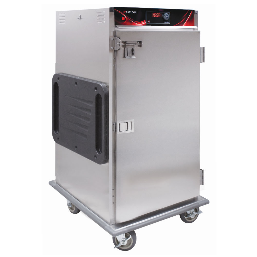 Cres Cor H-137-SUA-9D-SD 3/4 Height Insulated Mobile Heated Cabinet w/ (9) Pan Capacity, 120v