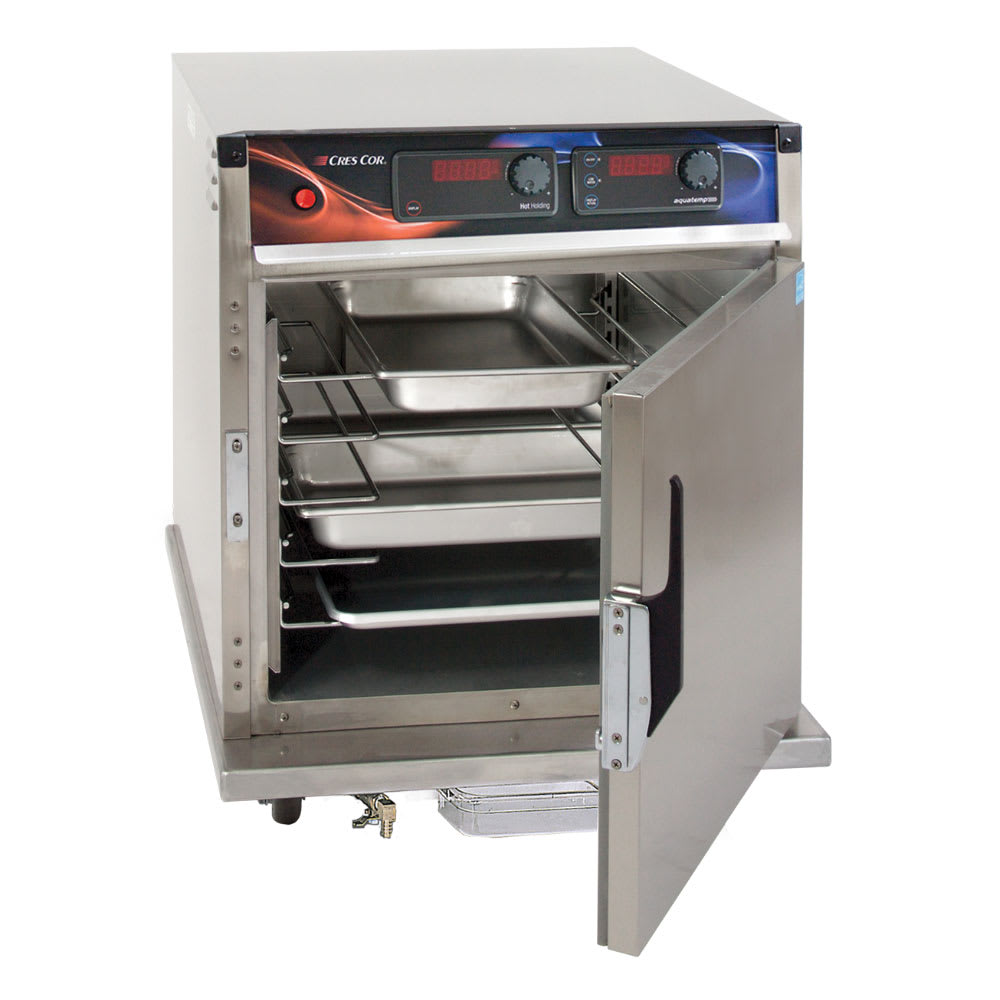 Cres Cor H-137-WSUA-5D Undercounter Insulated Mobile Heated Cabinet w/ (5) Pan Capacity, 120v