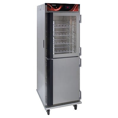 Cres Cor H-138-NS-CC3MC5Q Full Height Insulated Mobile Heated Cabinet w/ (12) Pan Capacity, 120v