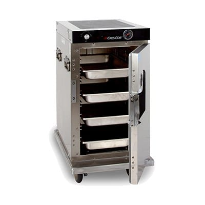 Cres Cor H-339-128C 1/2 Height Insulated Mobile Heated Cabinet w/ (8) Pan Capacity, 120v