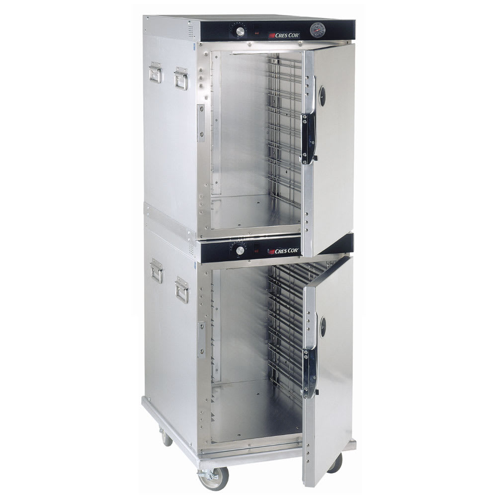 Cres Cor H-339-214C Full Height Mobile Heated Cabinet w/ (16) Pan Capacity, 120v