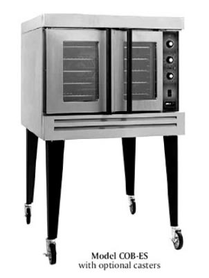 B.K.I. COB-ES Double Full Size Electric Convection Oven - 220v/3ph