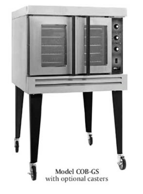 B.K.I. COB-GD Double Full Size Gas Convection Oven - LP