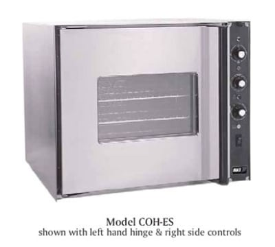 B.K.I. COH-ES Half Size Electric Convection Oven - 208v/1ph
