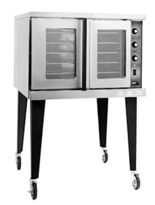 B.K.I. COM-ES Full Size Electric Convection Oven - 208v/1ph