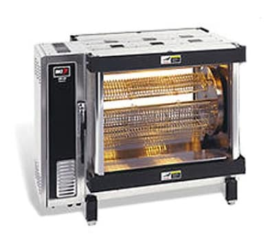 B.K.I. DR-34 Electric 5-Spit Commercial Rotisserie, 208v/3ph