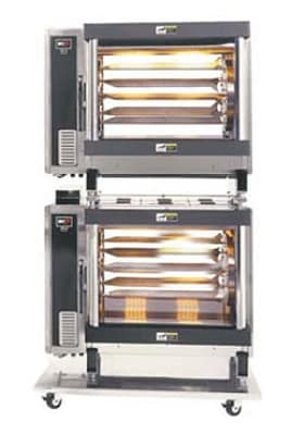 B.K.I. DR-34/2 Electric 5 Spit Commercial Rotisserie, 240v/1ph