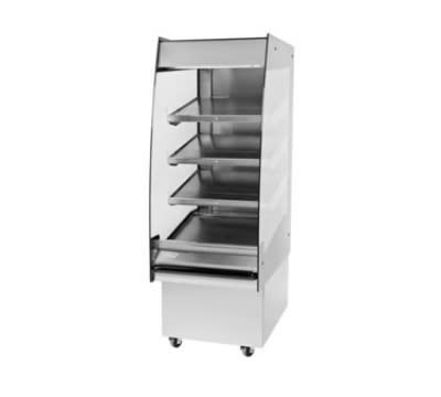 "B.K.I. HSS2-4T 230 24"" Hot Self Serve Merchandiser, Marine Edge & (4) Slanted Tall Shelf, 230/1 V"