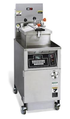 B.K.I. LGF-FC 48-lb Gas Pressure Chicken Fryer - LP
