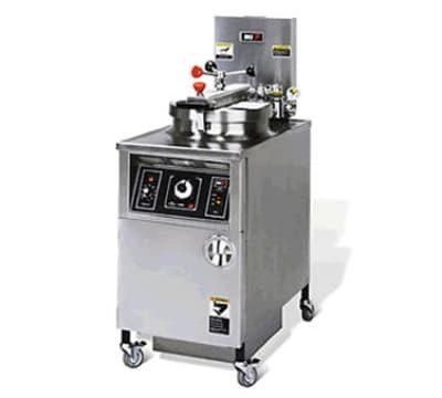 B.K.I. LPF 48-lb Electric Pressure Chicken Fryer - 240v/3ph