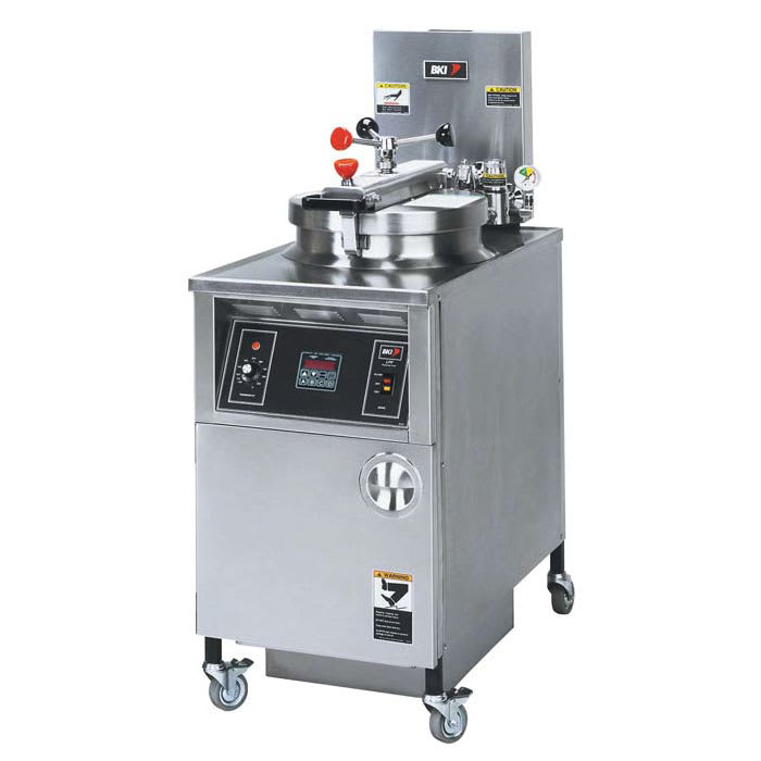 B.K.I. LPF-F 48 lb Electric Pressure Chicken Fryer - 240v/3ph