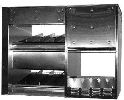 B.K.I. SFW-72 Combination Sandwich Fry Warmer, Countertop, 3.6kW