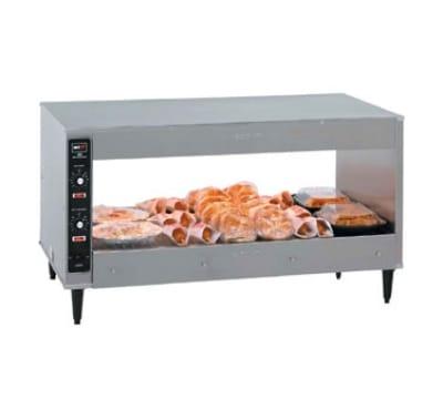 "B.K.I. SM-72 72"" Self-Service Countertop Heated Display Shelf - (1) Shelf, 120v"