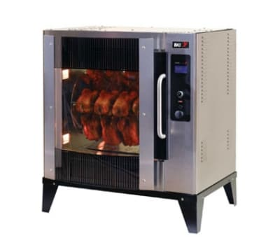 B.K.I. VGG-5-F-PT Electric 20 Bird Commercial Rotisserie, 240v/3ph