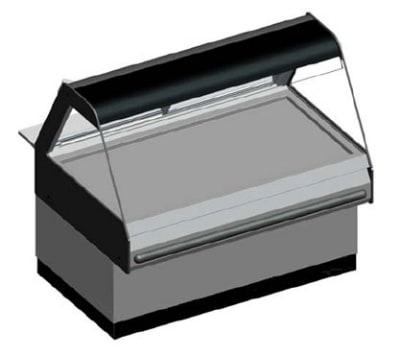 B.K.I. WDCG-4T 2203 Global Heated Display Merchandiser w/ 4-Wells & 55.5-in Custom Case, 220/3 V