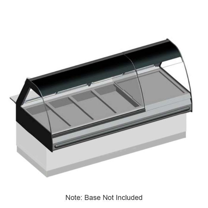"""B.K.I. WDCG-6 2403 Global Heated Display Merchandiser w/ 6 Wells & 82.5"""" Stock Case, 240/3 V"""