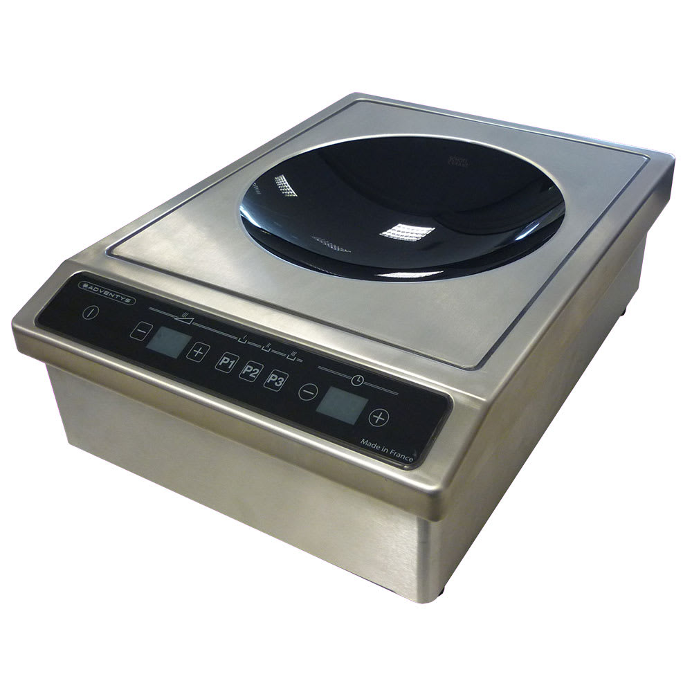 Equipex BWIC 3600 Drop-In Commercial Induction Wok Unit, 208 240v/1ph