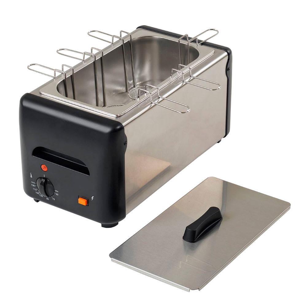 """Equipex CO-6 14.5"""" Egg Cooker w/ 6-Holders, 10-Egg Capacity, 120v"""