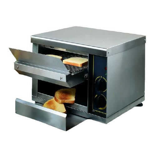 """Equipex CT-540 Conveyor Toaster - 540-Slices/hr w/ 1.25"""" Product Opening, 208v/1ph"""