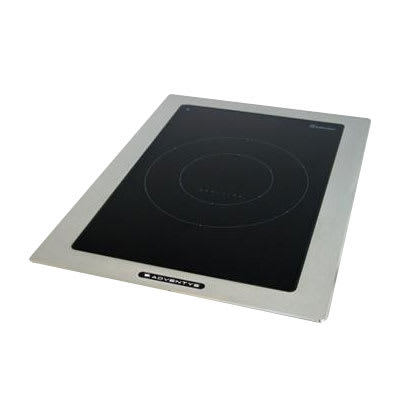 Equipex D1IC 2500 Drop-In Commercial Induction Cooktop w/ (1) Burner, 2.5-kW, 208-240v/1ph