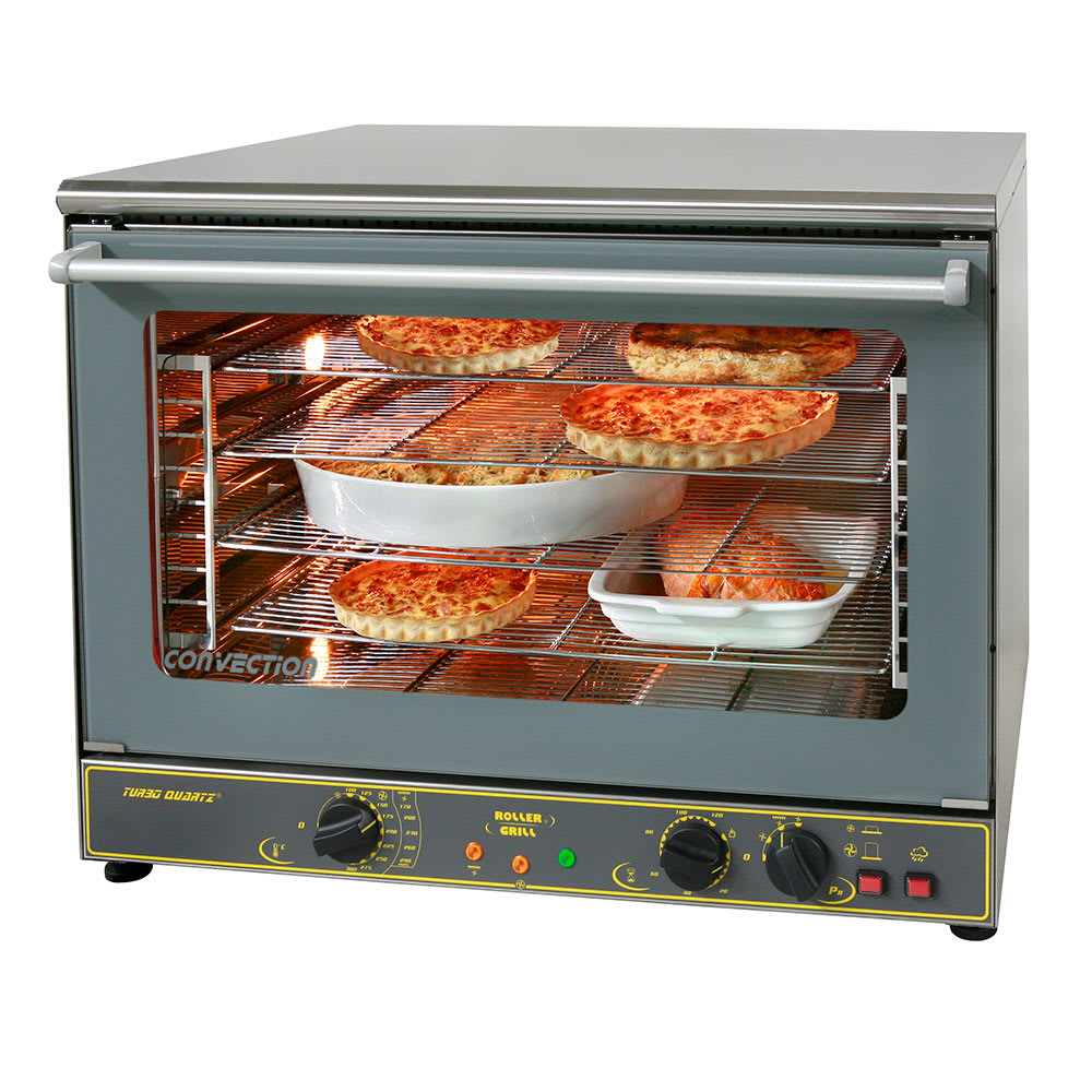 Equipex Fc 100g Full Size Countertop Convection Oven 208 240v 1ph