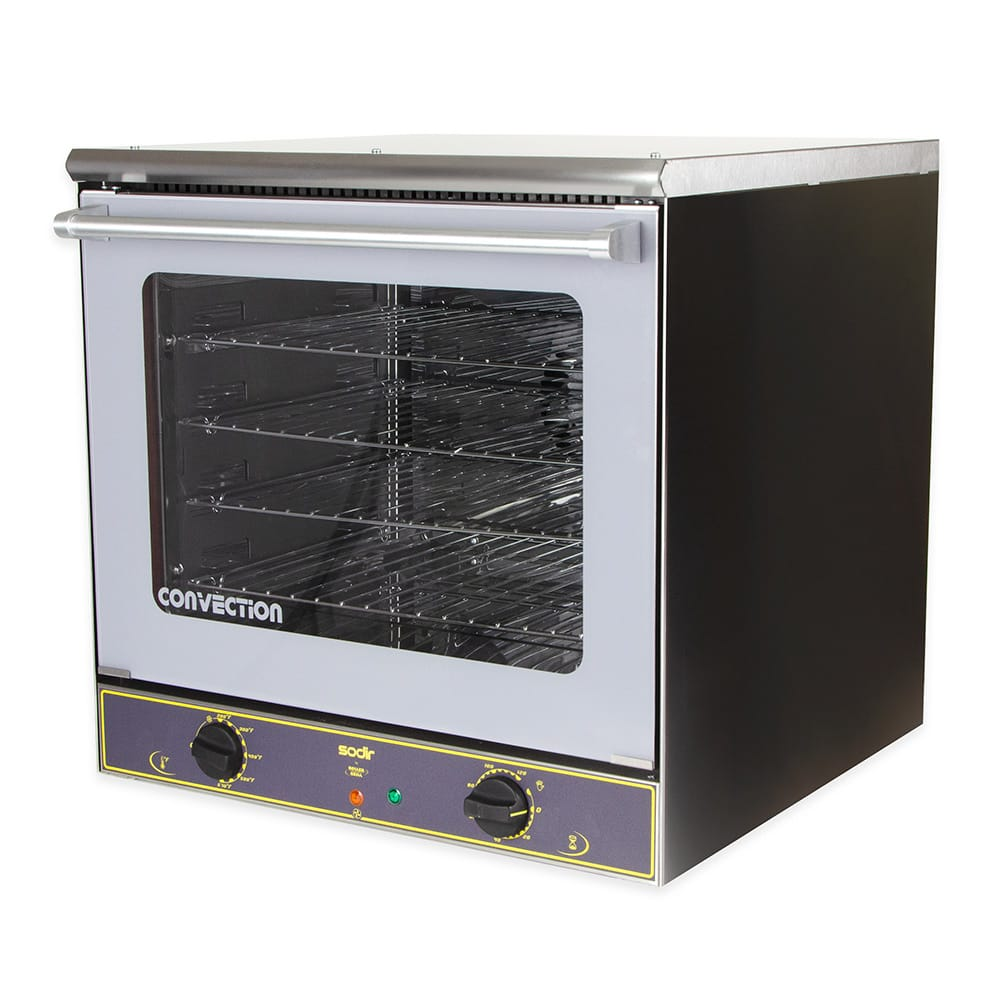 Equipex FC-60 Half-Size Countertop Convection Oven, 208 240v/1ph