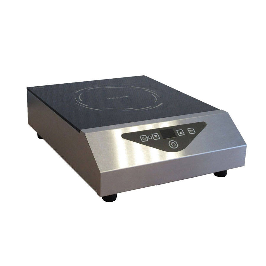 Equipex GL1800 PB Countertop Commercial Induction Cooktop w/ (1) Burner, 120v