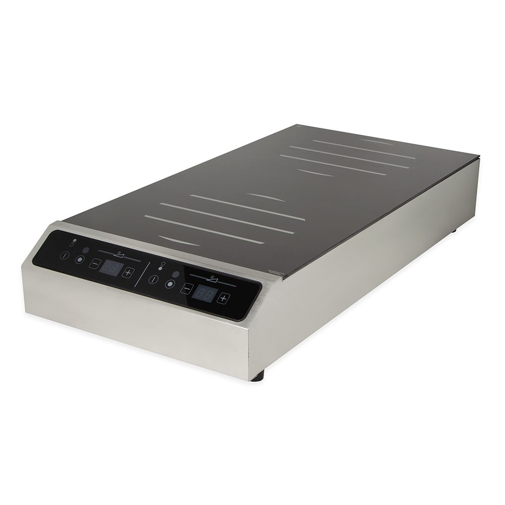 Equipex GL2-6000F Countertop Commercial Induction Cooktop w/ (2) Burners, 208-240v/1ph