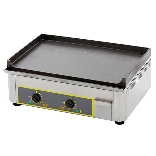 "Equipex PSE-600 23"" Electric Griddle - Thermostatic, Cast Iron Plate, 208-240v/1ph"