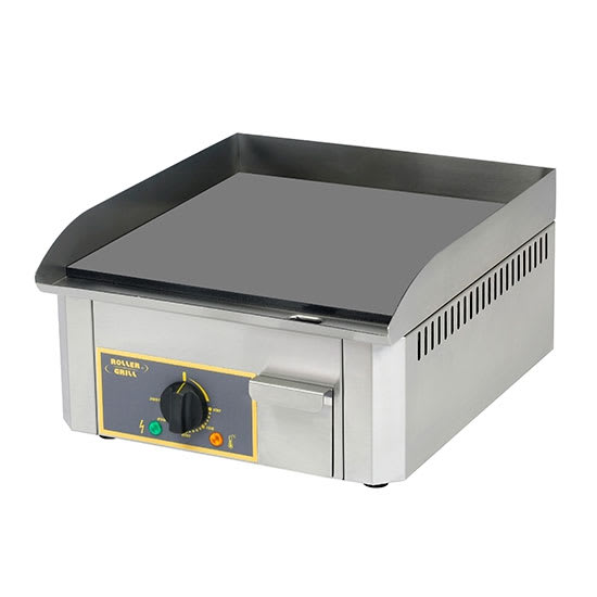 """Equipex PSS-400/1 15"""" Electric Griddle - Thermostatic, 1"""" Steel Plate, 120v"""