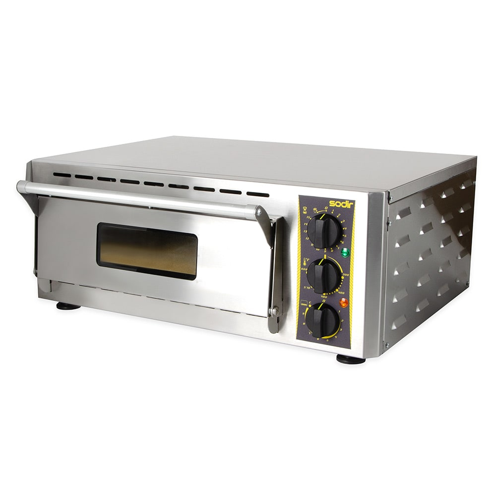 Equipex PZ-430S Countertop Pizza Oven - Single Deck, 120v
