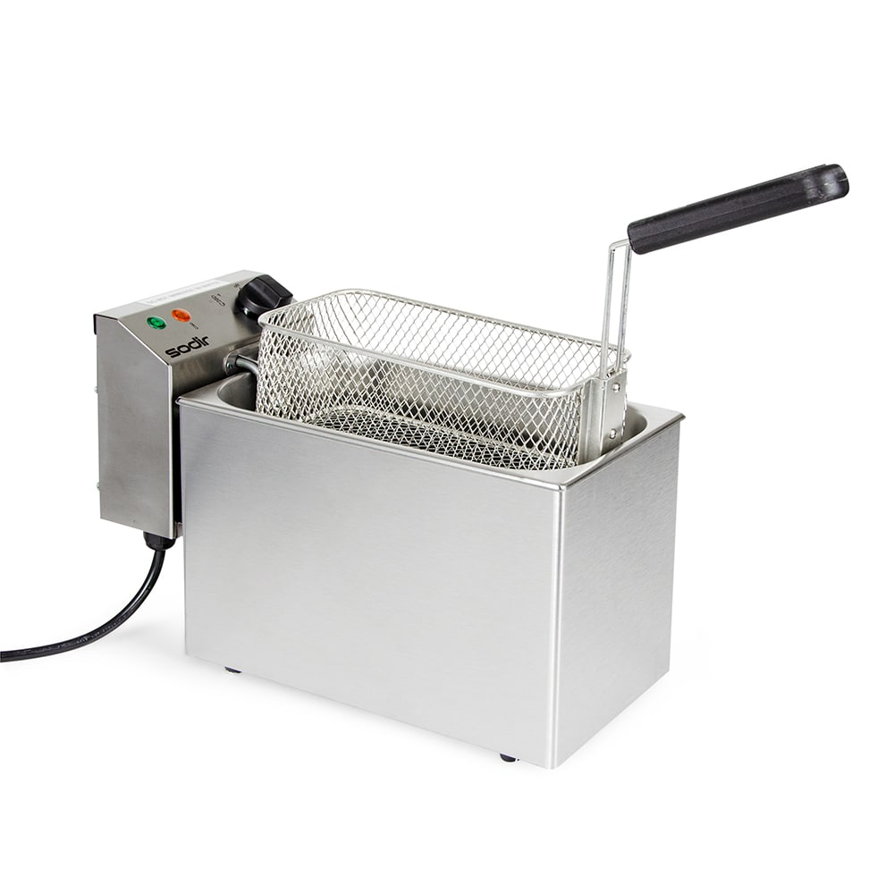 Equipex RF5S Countertop Electric Fryer - (1) 10-lb Vat, 120v