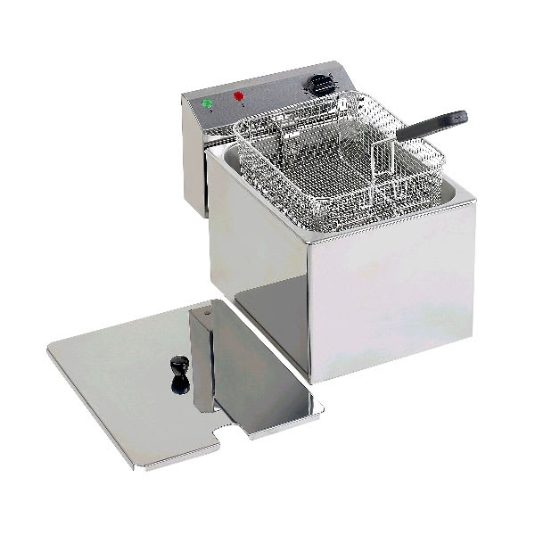 Equipex RF8SP Countertop Electric Fryer - (1) 15 lb Vat, 208 240v/1ph