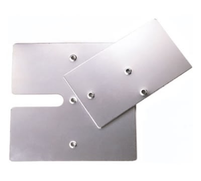 "Snap Drape BASESLF1515 Slip-Fit Base for 8-ft Upright, 14"" x 16"""
