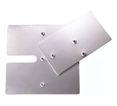 "Snap Drape BASESLF814 Slip-Fit Base for 3-ft Upright, 8"" x 14"""