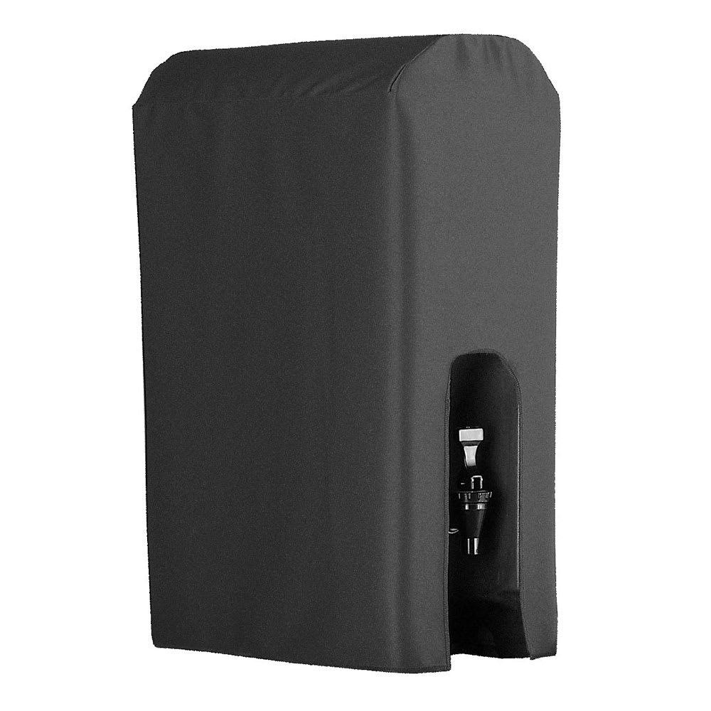 Snap Drape BDCWYN10 CHCL 10 Gallon Beverage Dispenser Cover-Cambro & Carlisle, Charcoal