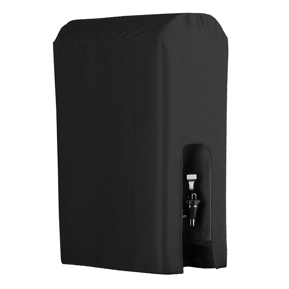 Snap Drape BDCWYN50 BLK 5-Gallon Beverage Dispenser Cover-Cambro & Carlisle, Black