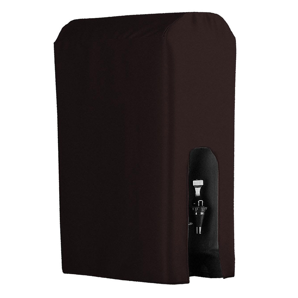 Snap Drape BDCWYN50 BRWN 5 Gallon Beverage Dispenser Cover-Cambro & Carlisle, Brown