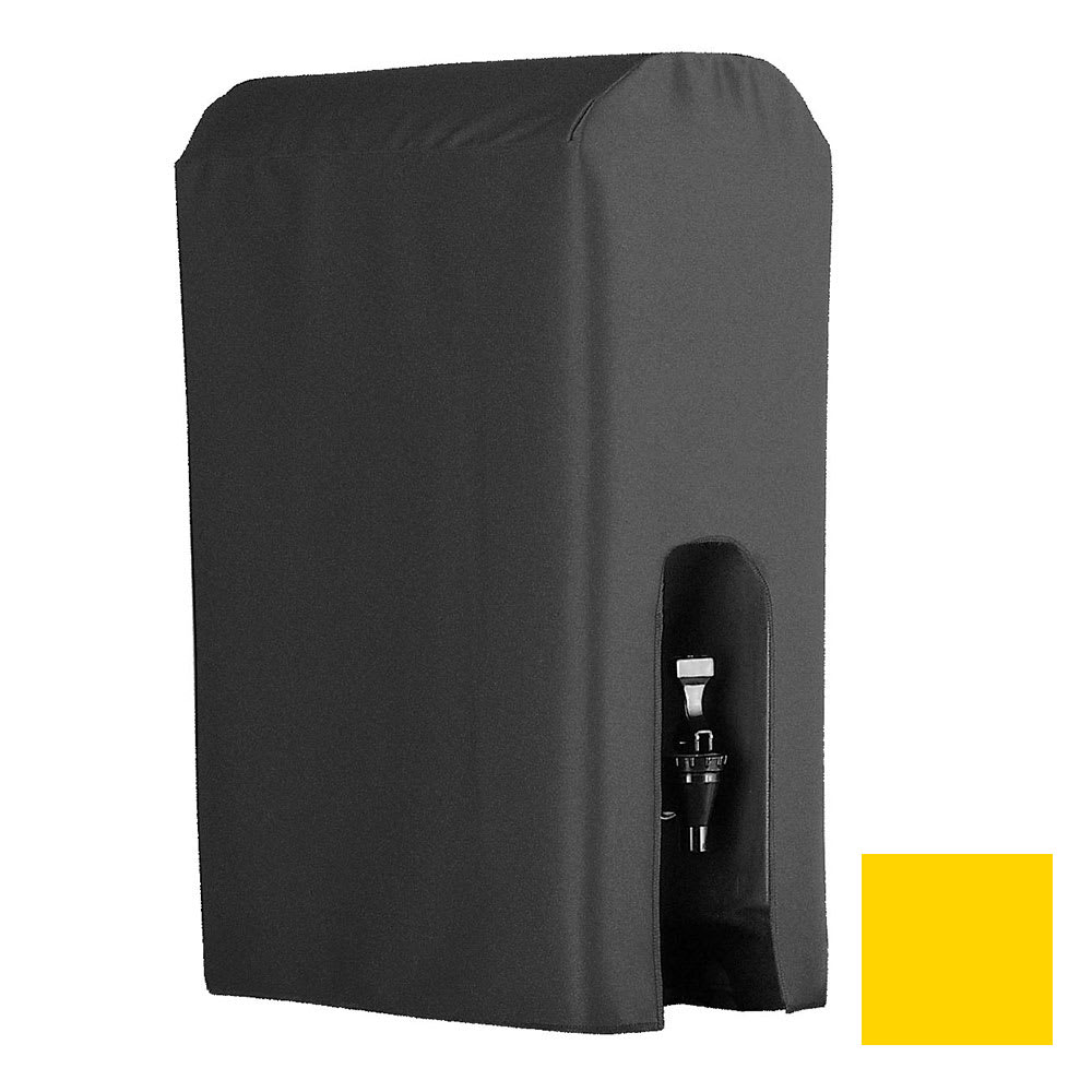 Snap Drape BDCWYN50 SNFLW 5-Gallon Beverage Dispenser Cover-Cambro & Carlisle, Sunflower