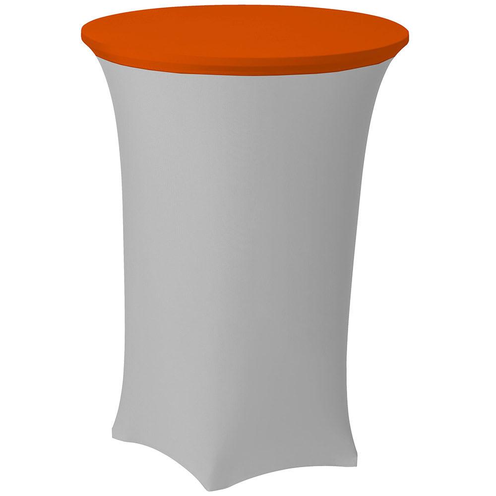 "Snap Drape CCAP30R MAN Contour Table Cover Cap for 30"" Round Table, Poly/Spandex, Mango"