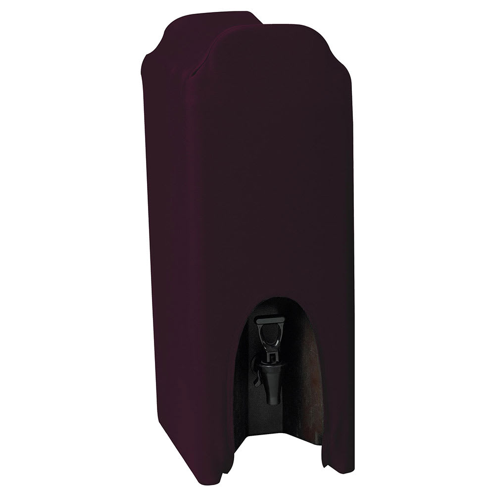 Snap Drape CCBDC25 BGDY Contour 2.5 Gallon Beverage Dispenser Cover, Snug Fit, Burgundy